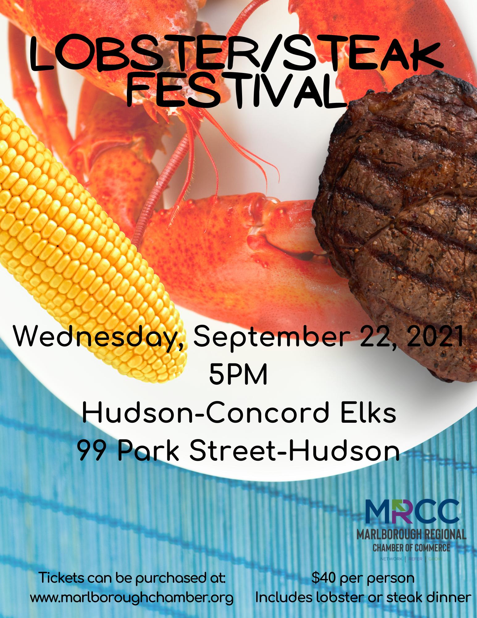 Steak & Lobster Festival!